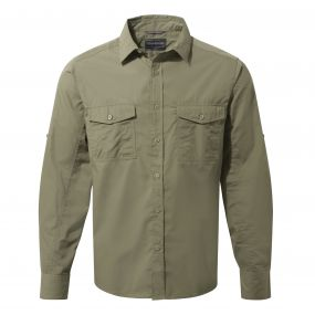 Kiwi Long-Sleeved Shirt Pebble