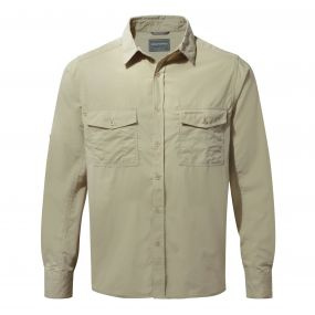 Kiwi Long-Sleeved Shirt Oatmeal