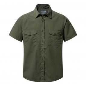 Kiwi Short-Sleeved Shirt Cedar