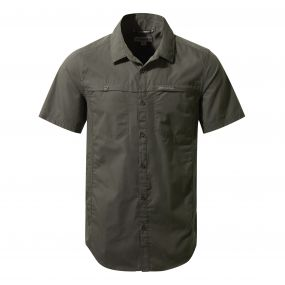 Kiwi Trek Short Sleeved Shirt Ashen