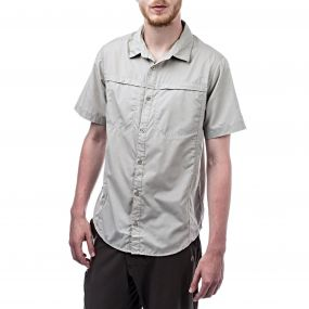 Kiwi Trek Short-Sleeved Shirt Parchment