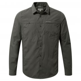 Kiwi Trek Long-Sleeved Shirt Ashen