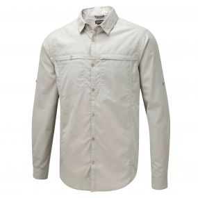 Kiwi Trek Long-Sleeved Shirt Parchment