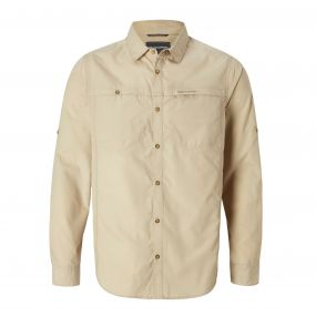Kiwi Trek Long-Sleeved Shirt Oatmeal