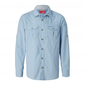 NosiLife Adventure Long-Sleeved Shirt Fogle Blue