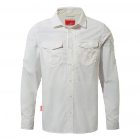 NosiLife Adventure Long-Sleeved Shirt Optic White