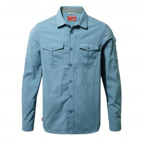 NosiLife Adventure Long-Sleeved Shirt Smoke Blue