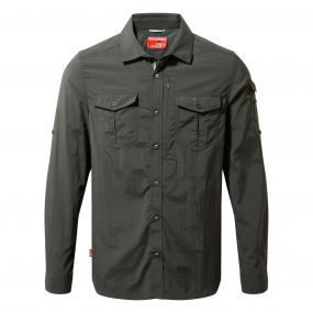 NosiLife Adventure Long-Sleeved Shirt Black Pepper