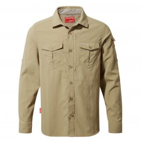 NosiLife Adventure Long-Sleeved Shirt Camel