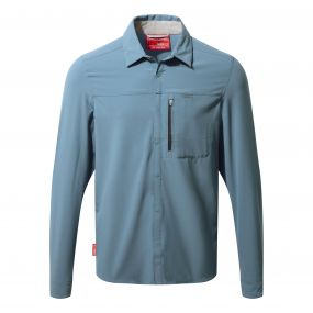 NosiLife Pro Long Sleeved Shirt Smoke blue