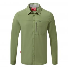 NosiLife Pro Long Sleeved Shirt Soft Khaki