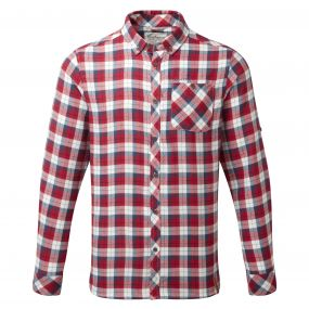 Kearney Long-Sleeved Check Shirt Maple Red