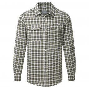 Kiwi Long Sleeved Check Shirt Black Pepper