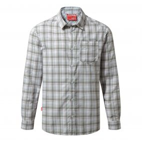 NosiLife Prospect Long-Sleeved Shirt Quarry Grey Combo