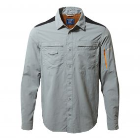 Discovery Adventures Long-Sleeved Shirt Quarry Grey