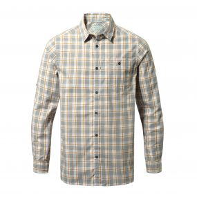 Brentwood Long-Sleeved Shirt Quarry Grey Combo