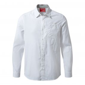 NosiLife Tatton Long Sleeved Shirt Optic White