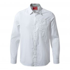 NosiLife Tatton Long-Sleeved Shirt Optic White