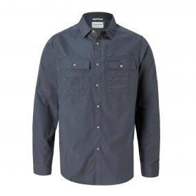 Adventure Trek Long-Sleeved Shirt Ombre Blue