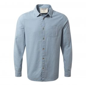 Porter Long-Sleeved Shirt Fogle Blue