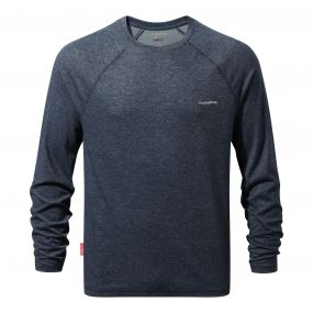 NosiLife Bayame Long-Sleeved Tee Soft Navy Marl