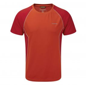 Vitalise Base T-Shirt Dynamite Chilli