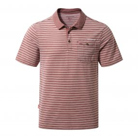 NosiLife Gilles Short-Sleeved Polo Carmine Combo