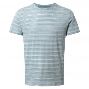 Bernard Short Sleeved T-Shirt Smoke Blue Combo