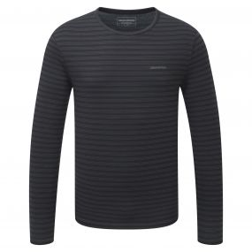 Bentley Long-Sleeved Tee Black Pepper