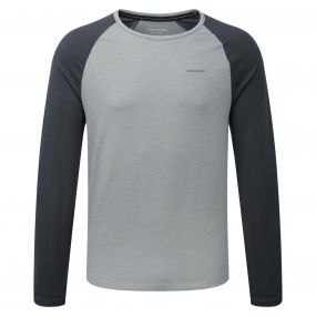 Maple Long-Sleeved T-Shirt Quarry Grey Grey