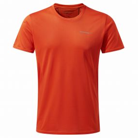 Insect Shield Active Short Sleeved Tee Spiced Orange