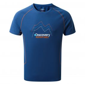Discovery Adventures Short-Sleeved Tee Deep Blue