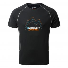 Discovery Adventures Short-Sleeved Tee Black