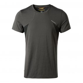 Fusion Short-Sleeved T-Shirt Black Pepper