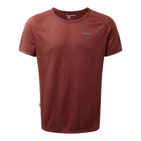 NosiLife Short-Sleeved Baselayer Tee Red Earth