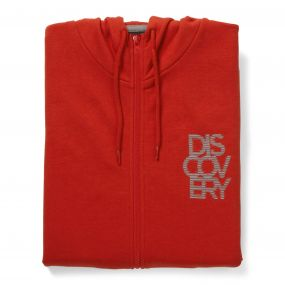 Discovery Adventures Hooded Jacket Dynamite Red