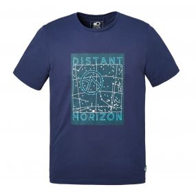 Discovery Adventures Short-Sleeved T-Shirt Night Blue