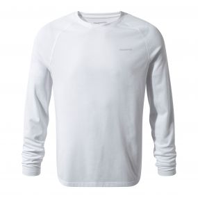 Insect Shield Bayame Long-Sleeved Tee Optic White