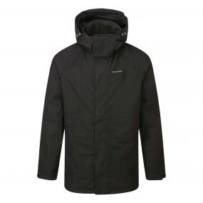 Ashton Long Gore-Tex Interactive Jacket Black