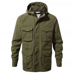 NosiLife Forester Jacket Dark Moss
