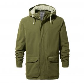 Hickory Jacket Dark Moss