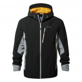 Discovery Adventures Stretch Jacket Black / Quarry Grey