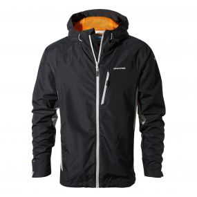 Discovery Adventures Waterproof Jacket Black / Quarry Grey