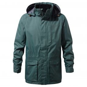 Kiwi Long Interactive Jacket Asteroid Green