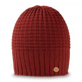 Brompton Beanie Dark Redwood