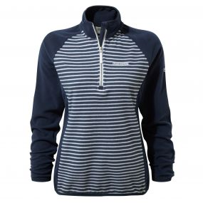 Tille Half Zip Night Blue Combo