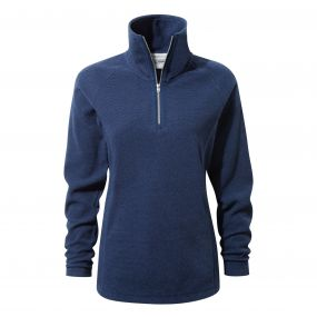 Delia Half-Zip Fleece Night Blue