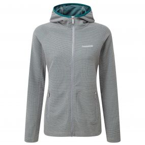 Hazelton Hooded Jacket Platinum