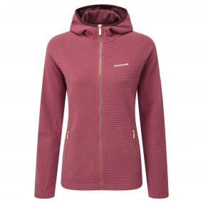 Hazelton Hooded Jacket Rosehip Pink