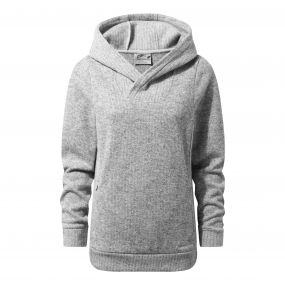 Callins Hooded Top Soft Grey Marl